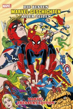 Marvel Treasury - Die besten Marvel-Geschichten aller Zeiten